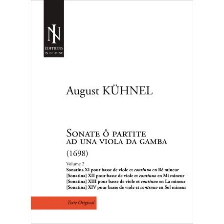 Sonate ô partite ad una viola da gamba (Volume 2)