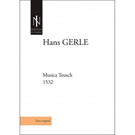 Musica Teusch (1532)