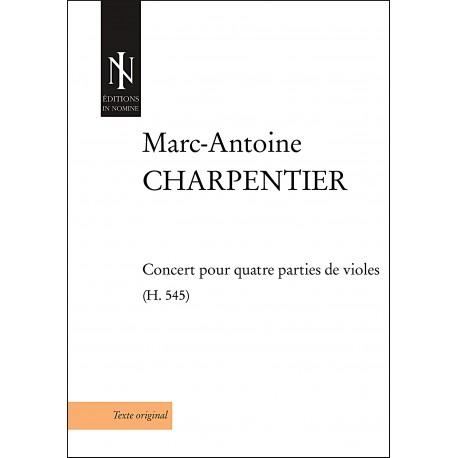 Concert pour quatre parties de violes (H.545)