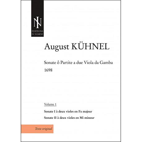 Sonate ô partite a due viola da gamba (volume 1)