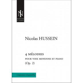 4 melodies Op. 2