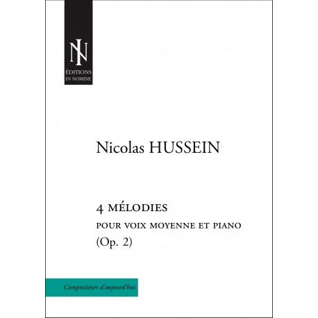 4 mélodies Op. 2