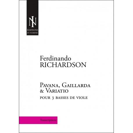 F. Richardson - Pavana, Gaillarda & Variatio
