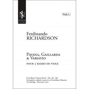 Pavana, Gaillarda & Variatio