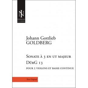 Sonate à 3 en ut majeur DürG 13
