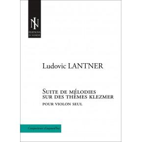 Suite of melodies upon klezmer melodies