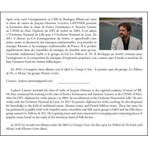 Bal'lade Klezmer Vol. 1 (Score)