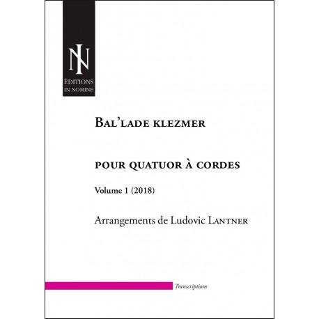 Bal'lade klezmer  Vol. 1 (conducteur)